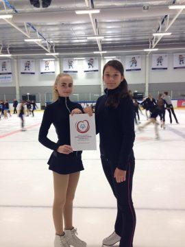 Katya og Emilie Special Olympics 17