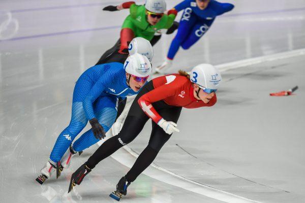 Starten på speed skating sæsonen