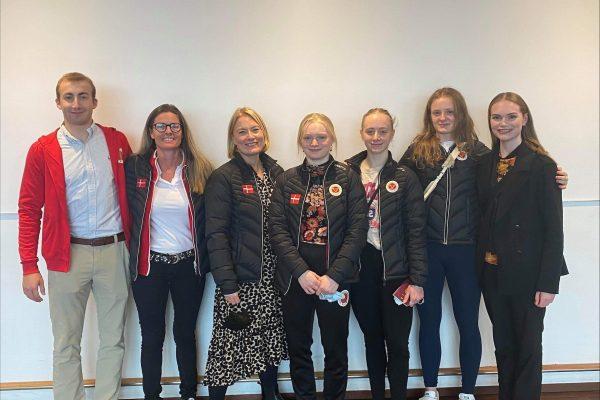 Aspiranter og Junior landshold sammen til konkurrence i Nice